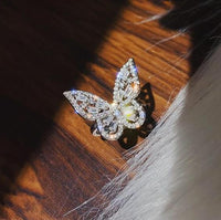sparkle butterfly rring