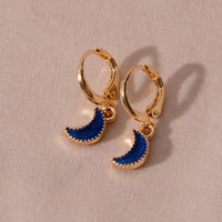 moon and star earrings