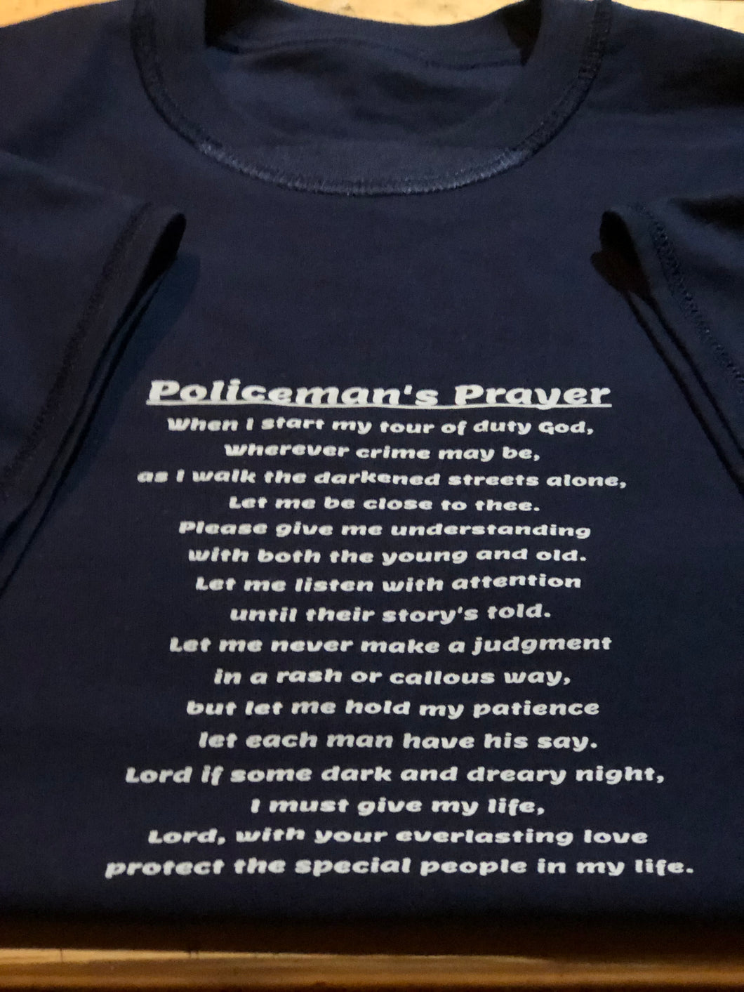 A Policeman's Prayer