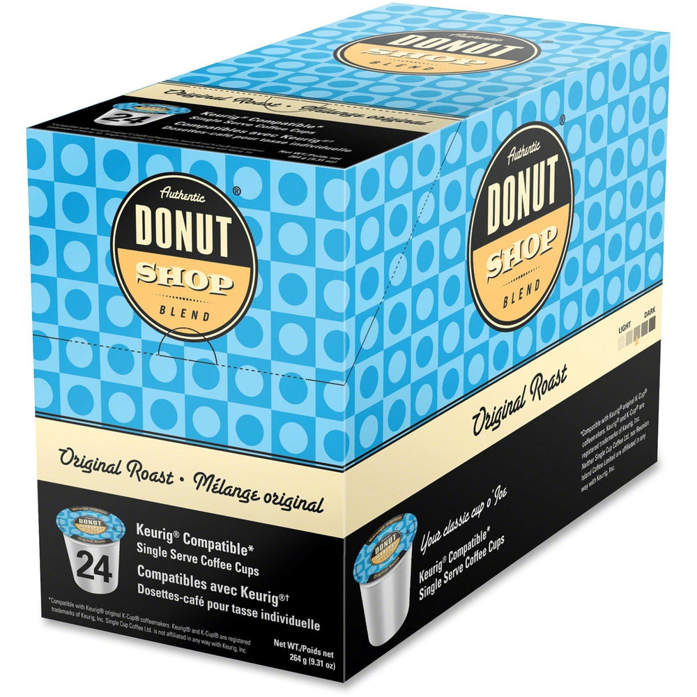 Load image into Gallery viewer, Authentic Donut Shop Blend Original  Roast 24CT