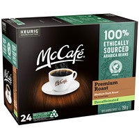 Load image into Gallery viewer, McCafe Premium Roast Decaf K Cup 24 CT