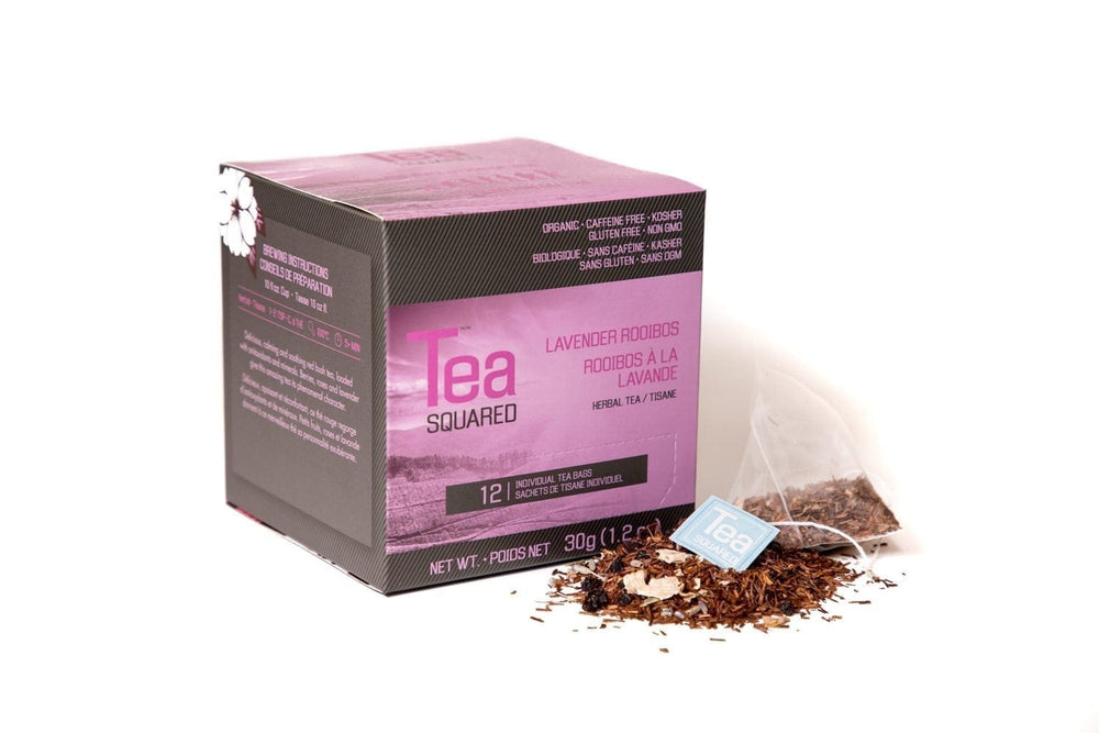 Load image into Gallery viewer, Tea Squared Lavender Rooibos 12 CT