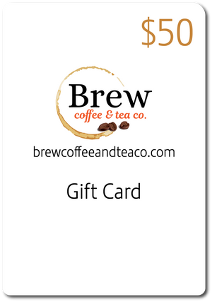Brew Coffee & Tea Gift Card