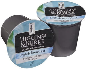 Load image into Gallery viewer, Higgins & Burke RC Loose Leaf Tea English Breakfast 24 CT