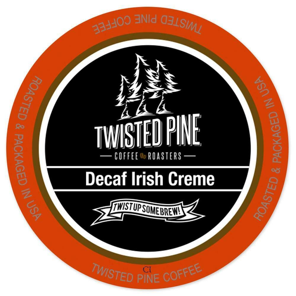 Twisted Pine Irish Crème Decaf Flav K Cup 24CT