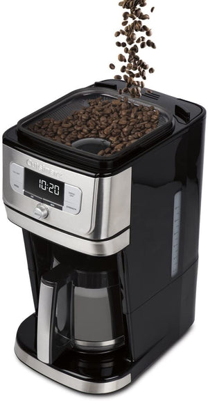 Save the TAX - Cuisinart® Fully Automatic 12-Cup Burr Grind & Brew Coffeemaker DGB-800C - Black/Silver