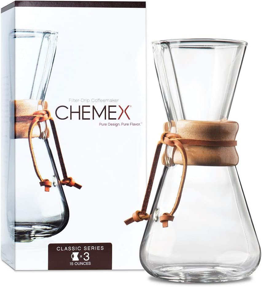 Load image into Gallery viewer, CHEMEX Filter-Drip Coffeemaker 3 Cup