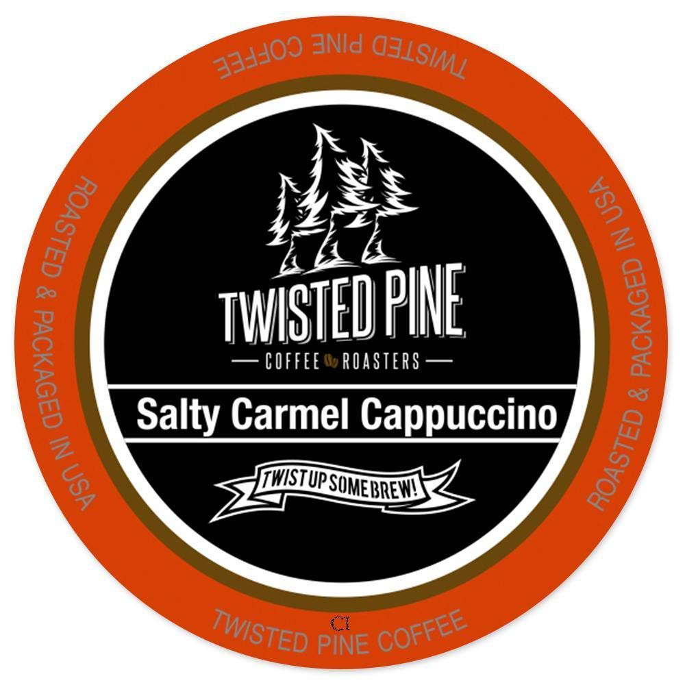 Twisted Pine Salty Caramel Cappuccino K Cup 24CT