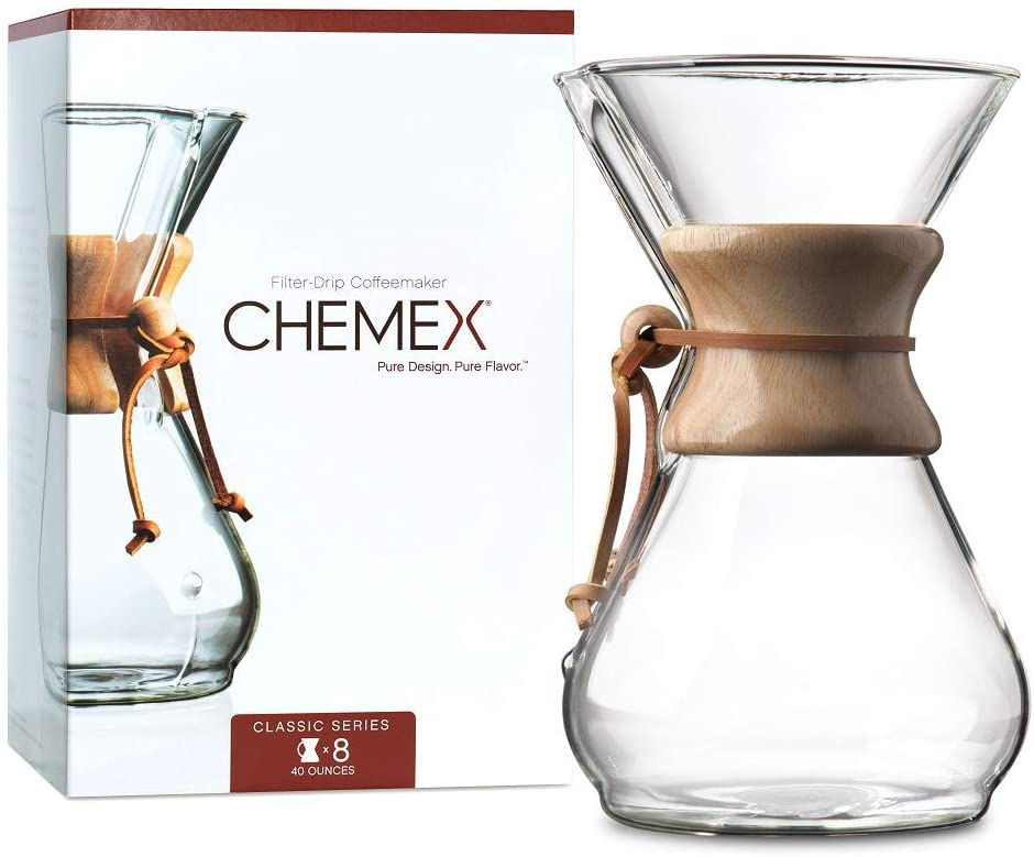 Load image into Gallery viewer, CHEMEX Filter-Drip Coffee Maker 8 Cup