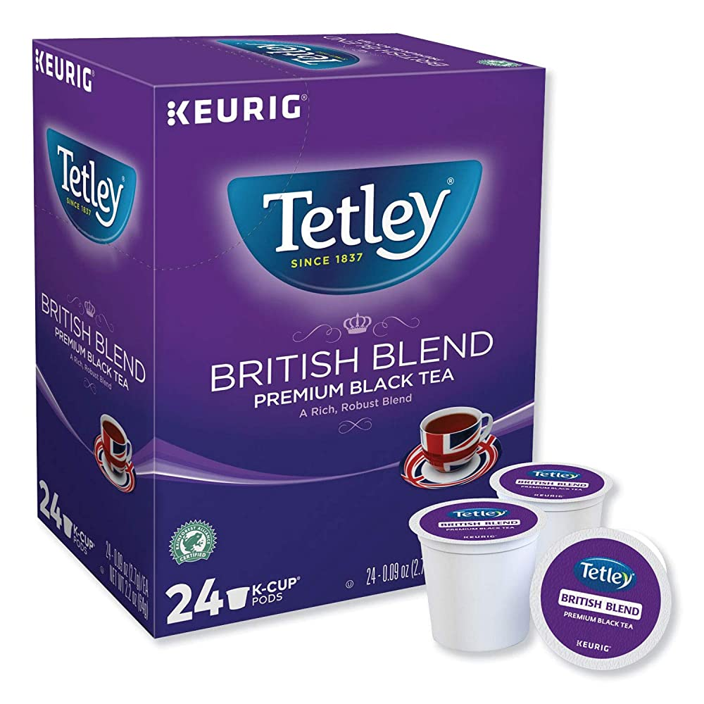 Load image into Gallery viewer, GMCR Tetley K CUP British Blend 24 CT