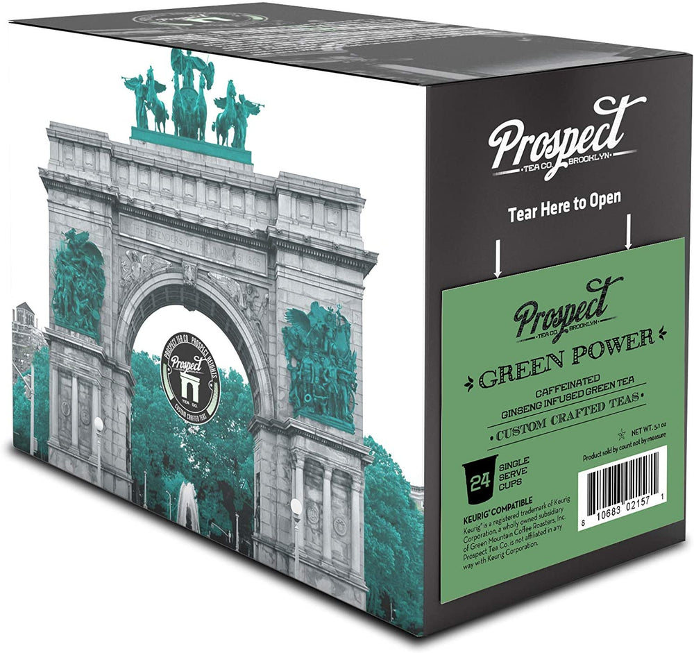 Load image into Gallery viewer, Prospect Tea Green Power 24 CT