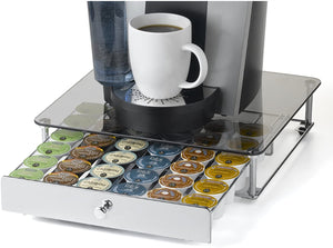 Nifty Rolling K Cup Drawer with Glass Top - 36
