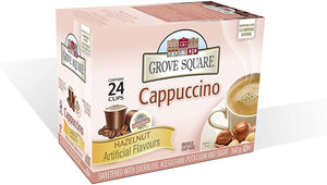 Grove Square Cappuccino Hazelnut 24 CT