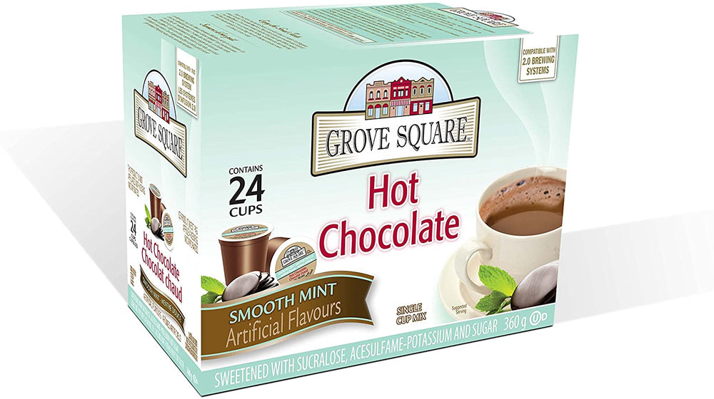 Grove Square Hot Chocolate Mint 24 CT