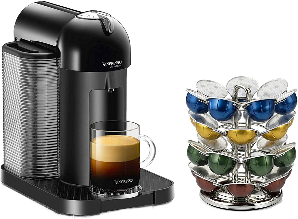 Load image into Gallery viewer, Nifty Nespresso Vertuoline Carousel Chrome - 28