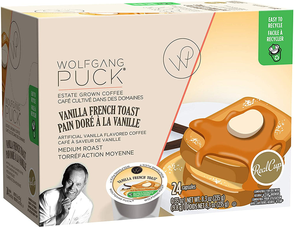 Load image into Gallery viewer, Wolfgang Puck Vanilla French Toast 24 CT