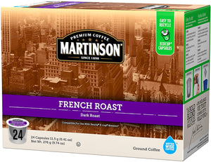 Load image into Gallery viewer, Martinson Coffee RC French Roast 24 CT