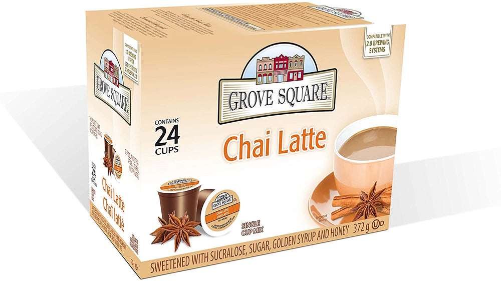Load image into Gallery viewer, Grove Square Chai Latte 24 CT