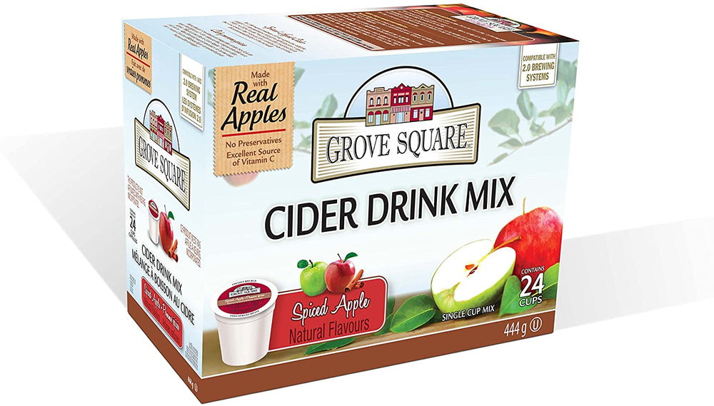Grove Square Cider Spiced Apple 24 CT