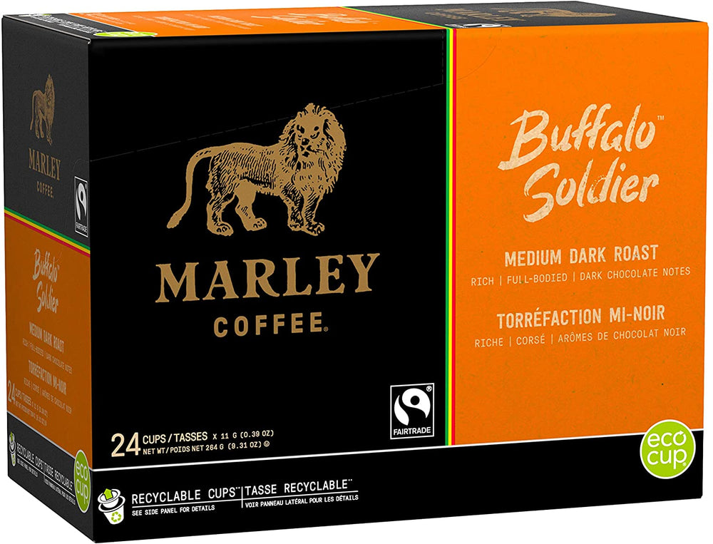 Load image into Gallery viewer, Marley Coffee Buffalo Soldier 24 CT