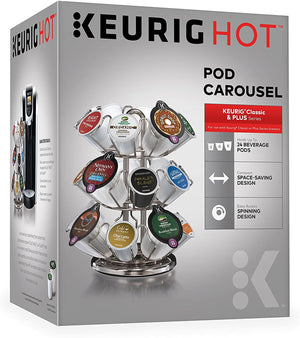 Keurig Hot Pod Carousel Chrome - 24