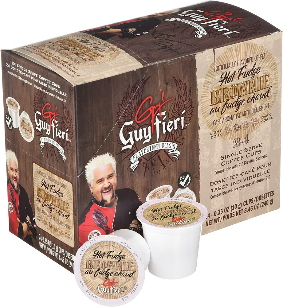 Guy Fieri K CUP Hot Fudge Brownie 24 CT