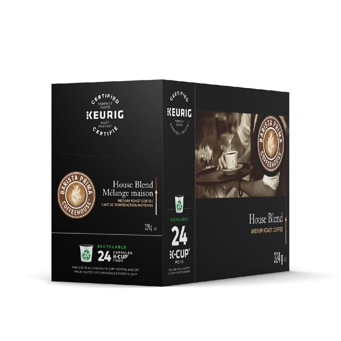 Load image into Gallery viewer, GMCR Barista Prima K CUP House Blend 24 CT