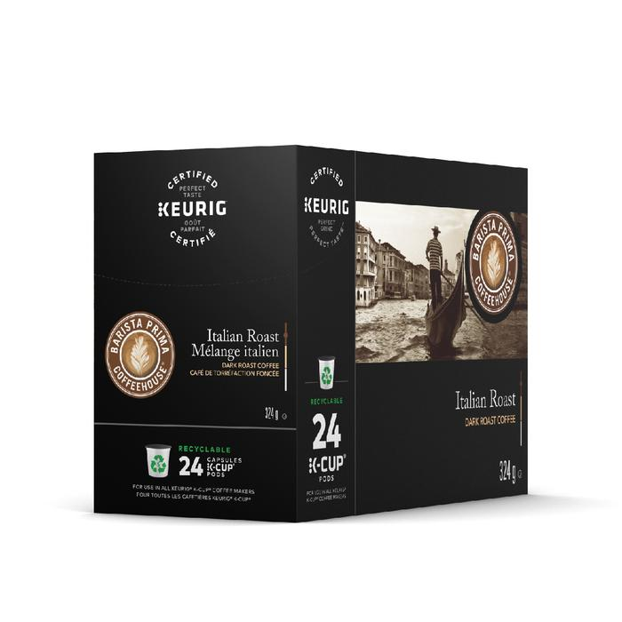 Load image into Gallery viewer, GMCR Barista Prima K CUP Italian Roast 24 CT
