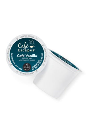 GMCR K CUP Cafe Escapes Vanilla 24 CT