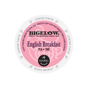 Load image into Gallery viewer, Bigelow Tea  K CUP English Breakfast 24 CT