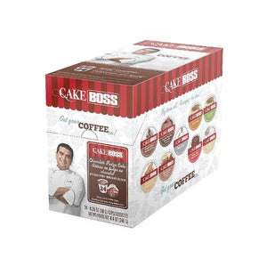 Cake Boss K CUPS Chocolate Fudge Cake 24 CT