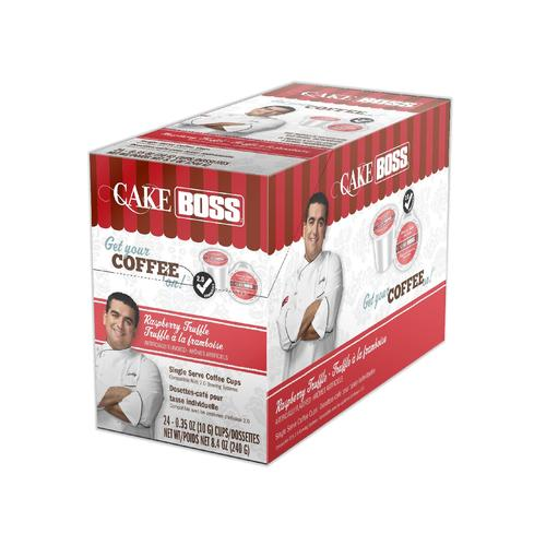 Load image into Gallery viewer, Cake Boss K CUPS Raspberry Truffle 24 CT