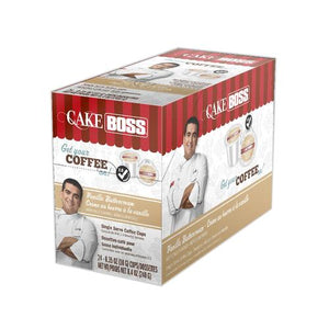 Cake Boss K CUPS Vanilla Buttercream 24 CT
