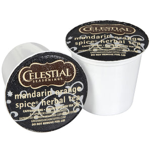 Load image into Gallery viewer, GMCR Celestial Tea K CUP Mandarin Orange Spice 24 CT