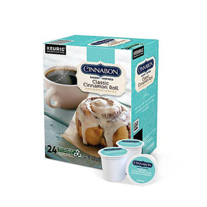 GMCR K CUP Flav Coffee Cinnabon Roll 24 CT