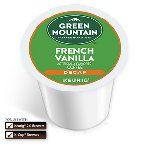 GMCR K CUP Flav Coffee French Vanilla Decaf 24 CT
