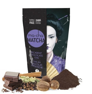 Load image into Gallery viewer, ma-cha Matcha Decadent Chocolate Chai