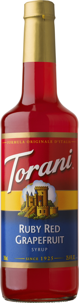 Load image into Gallery viewer, Torani Ruby Red Grapefruit 750ml