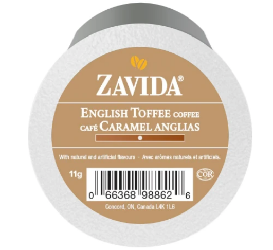 Load image into Gallery viewer, Zavida K Cups English Toffee 24 CT