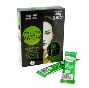 Load image into Gallery viewer, ma-cha Matcha Ceremonial Matcha Singles 12 CT