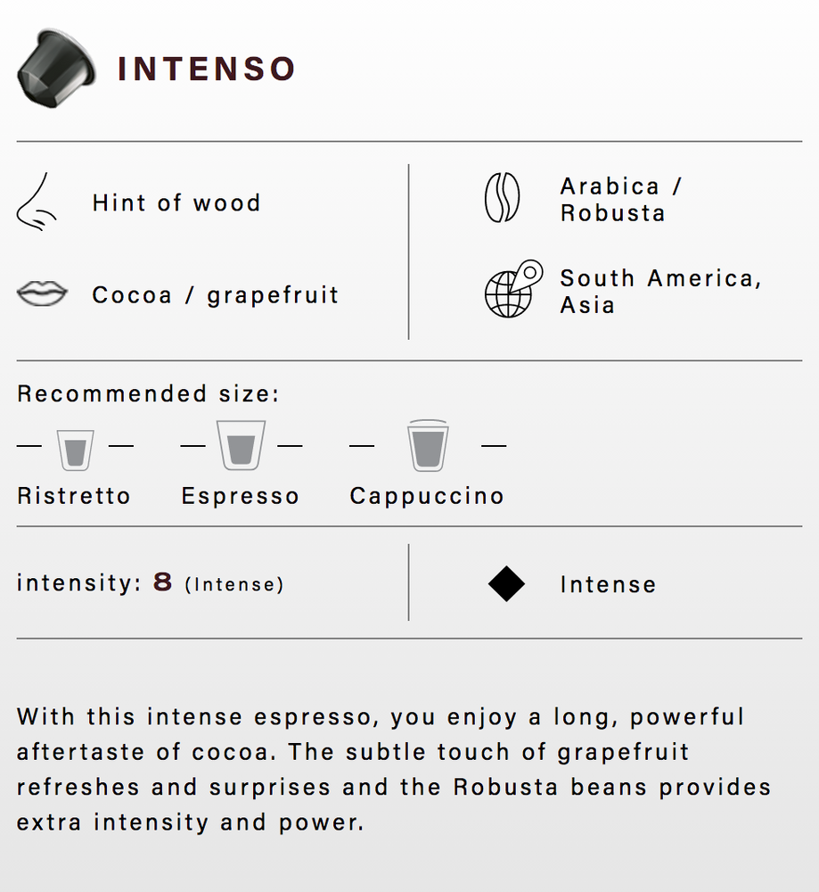 Load image into Gallery viewer, Belmio - Capsule Espresso Intenso Decaffeinato 8 (Nespresso Compatible)