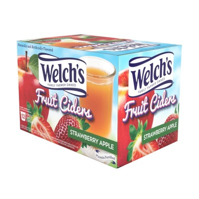Welch's Cider Strawberry Apple 12 CT