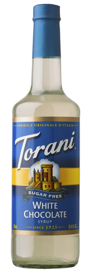 Torani Sugar Free White Chocolate 750ml