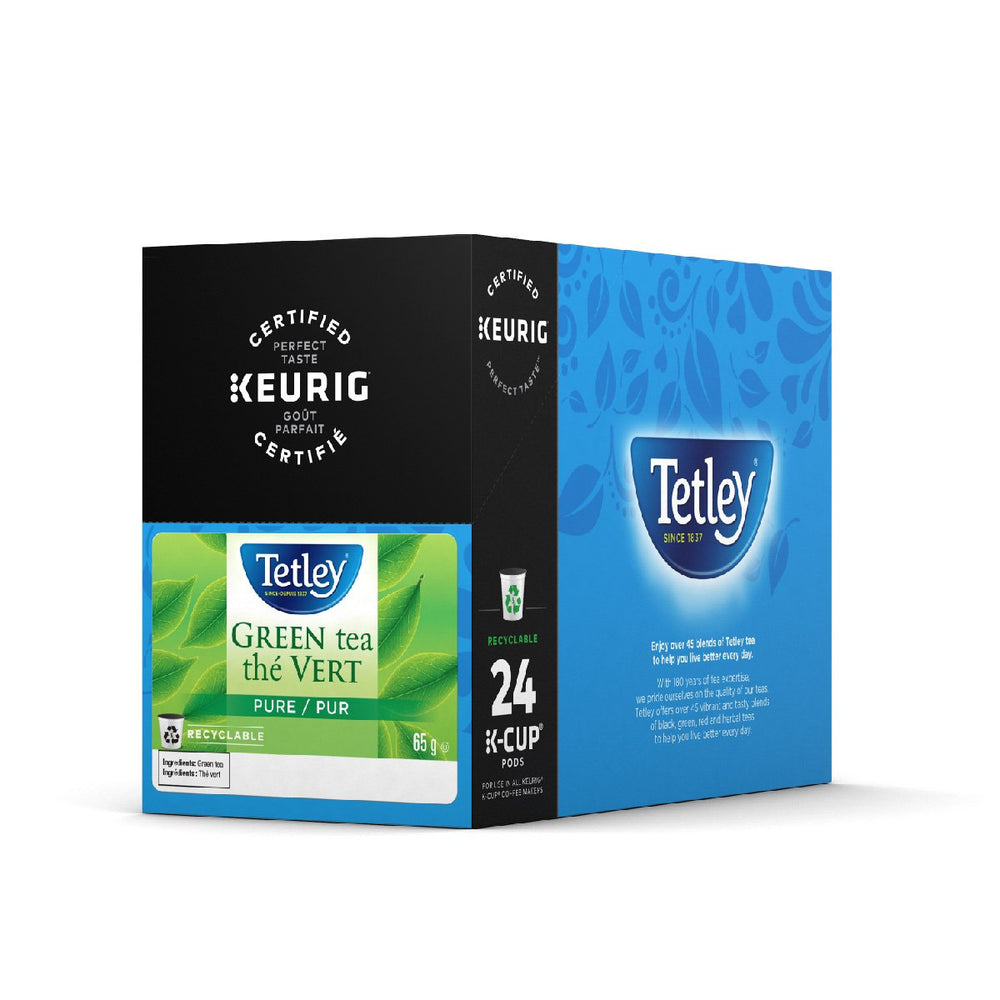 Load image into Gallery viewer, GMCR Tetley K CUP Pure Green Tea 24 CT