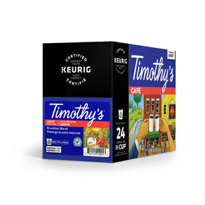 Load image into Gallery viewer, TIMOTHY'S K CUP Mild Roast Breakfast BLEND 24 CT