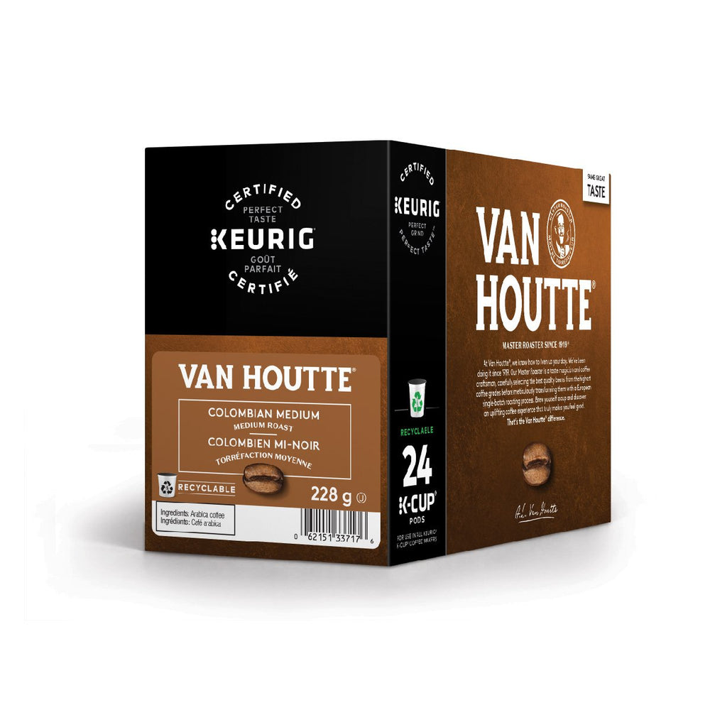 Load image into Gallery viewer, Van Houtte K CUP Colombian Medium 24 CT