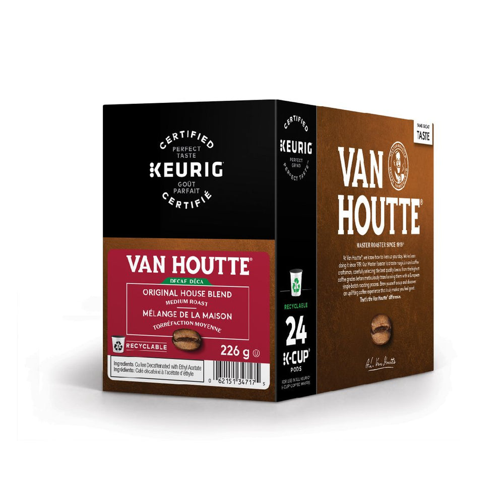 Load image into Gallery viewer, Van Houtte Original House Blend Decaf 24CT