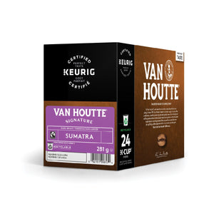 Load image into Gallery viewer, Van Houtte K CUP Sumatra Dark Extra Bold FT 24 CT