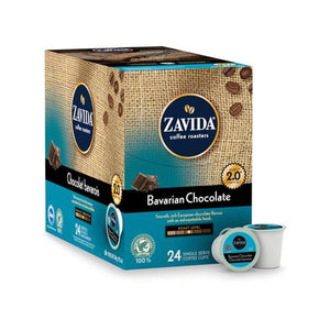 Load image into Gallery viewer, Zavida Z Cups Bavarian Chocolate 24 CT