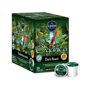 Zavida Z Cups Organica Dark Roast 24 CT